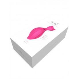 Розовый вакуумный стимулятор клитора Lip Love
